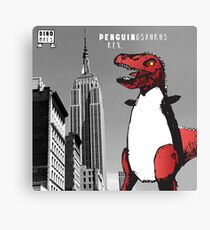 PENGUINOSARUS REX™ INVADES NEW YORK Canvas Print