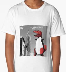 PENGUINOSARUS REX™ INVADES NEW YORK Long T-Shirt