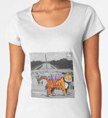 STIGERSAURUS™ GOES TO WASHINGTON Women's Premium T-Shirt