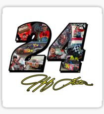 Jeff Gordon Tribute (Various Products) - #24Ever Sticker