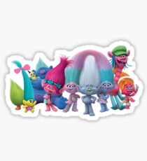 Trolls from Dreamwork's Trolls Sticker