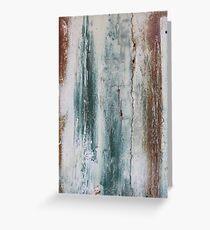 Painted Door  - JUSTART © Greeting Card