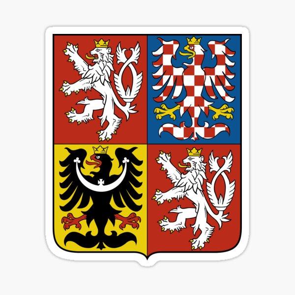 Antique Ceske Budejovice Coat of Arms Czech City Heraldic Crest Pin Badge