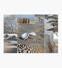A Day at the Beach © Photographic Print