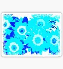 Turquoise Daisy - JUSTART © Sticker