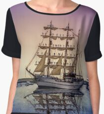 Sail Boston -Guayas Women's Chiffon Top