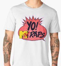 yo raps Men's Premium T-Shirt