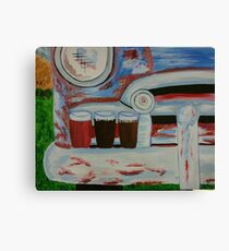 Grandpa's Truck Bumper on a Summer Evening Canvas Print