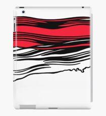 Lichtenstein Brush Strokes: Red iPad Case/Skin