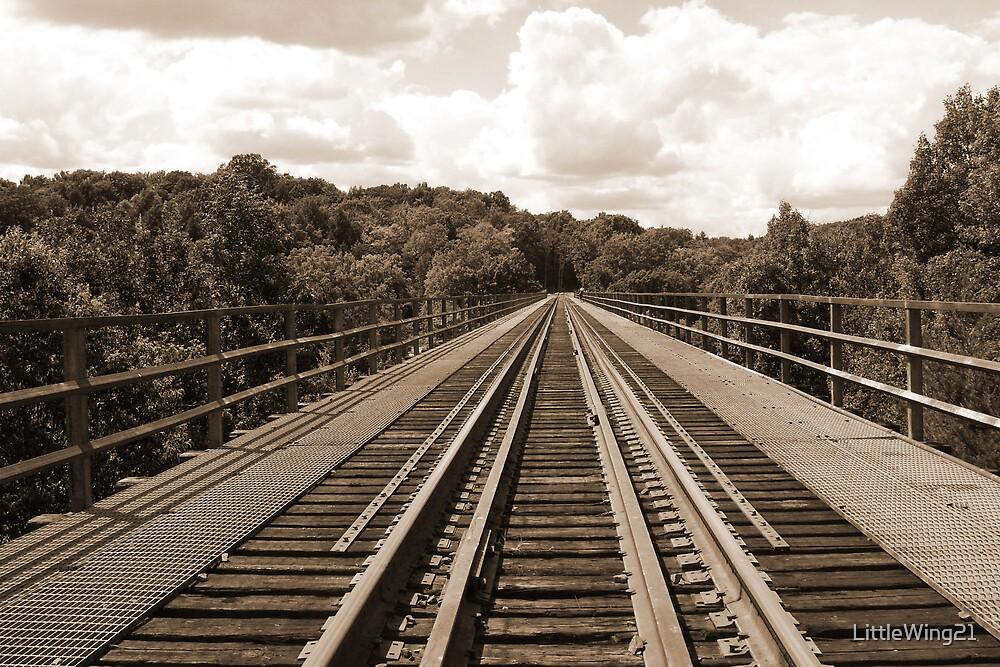 Train Bridge by LittleWing21