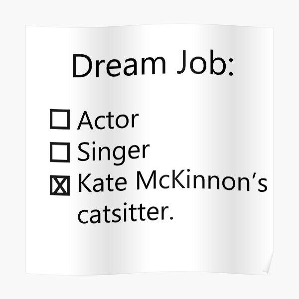 Kate McKinnon's Catsitter Poster