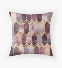 Dreamy Stained Glass 1 Throw Pillow