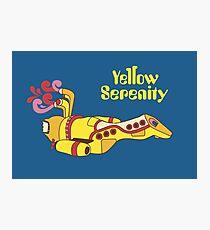 Yellow Serenity Photographic Print