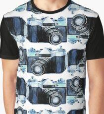 Watercolor vintage SLR camera Graphic T-Shirt