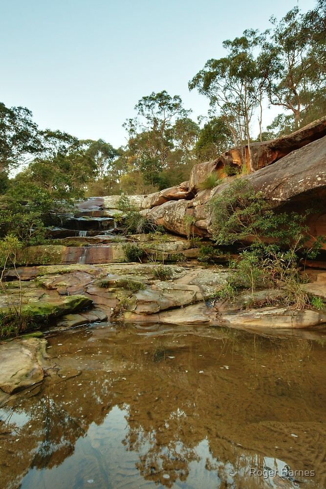Somersby Falls I by Roger Barnes