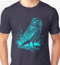 Cool Vintage Owl Graphic T-Shirt