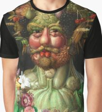 Rudolf II as Vertumnus by Giuseppe Arcimboldo, 1591 Graphic T-Shirt
