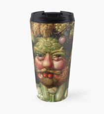 Rudolf II as Vertumnus by Giuseppe Arcimboldo, 1591 Travel Mug