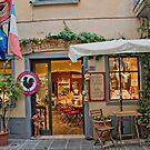 Romantic Italian Cafe  by Judy Ann  Grant