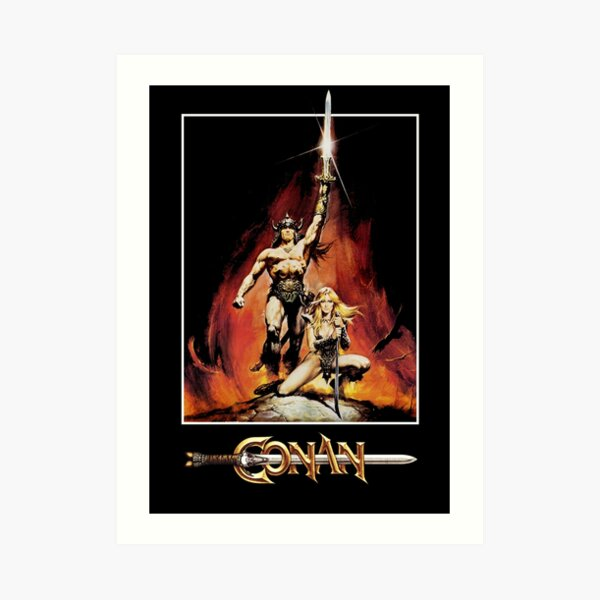 Conan The Barbarian Art Print