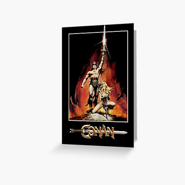 Conan The Barbarian Greeting Card