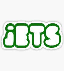 Jets Font Sticker