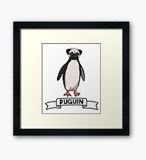 'Puguin'- Survival of the Strangest Framed Print