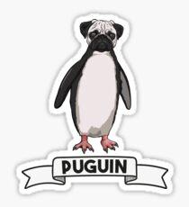 'Puguin'- Survival of the Strangest Sticker