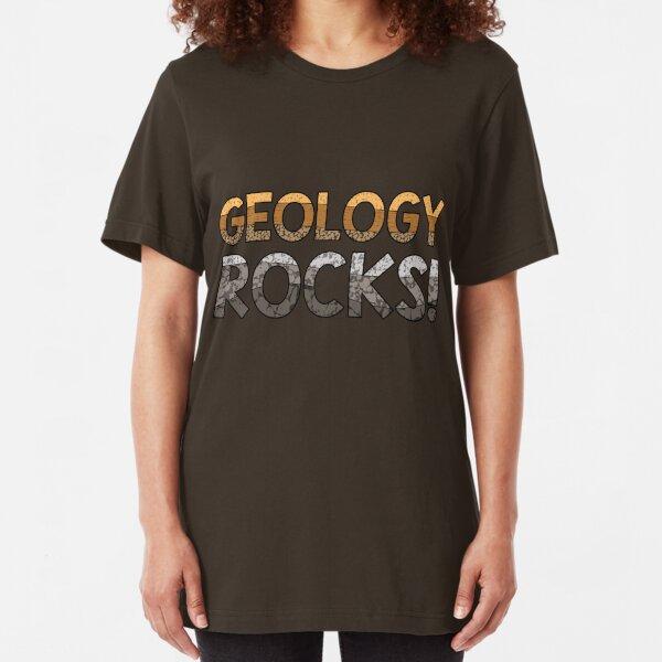 Geology Rocks! Slim Fit T-Shirt