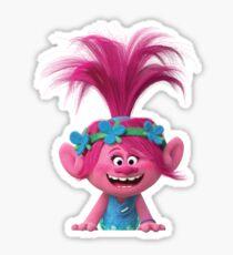 Pegatina Poppy de Dreamwork's Trolls 2