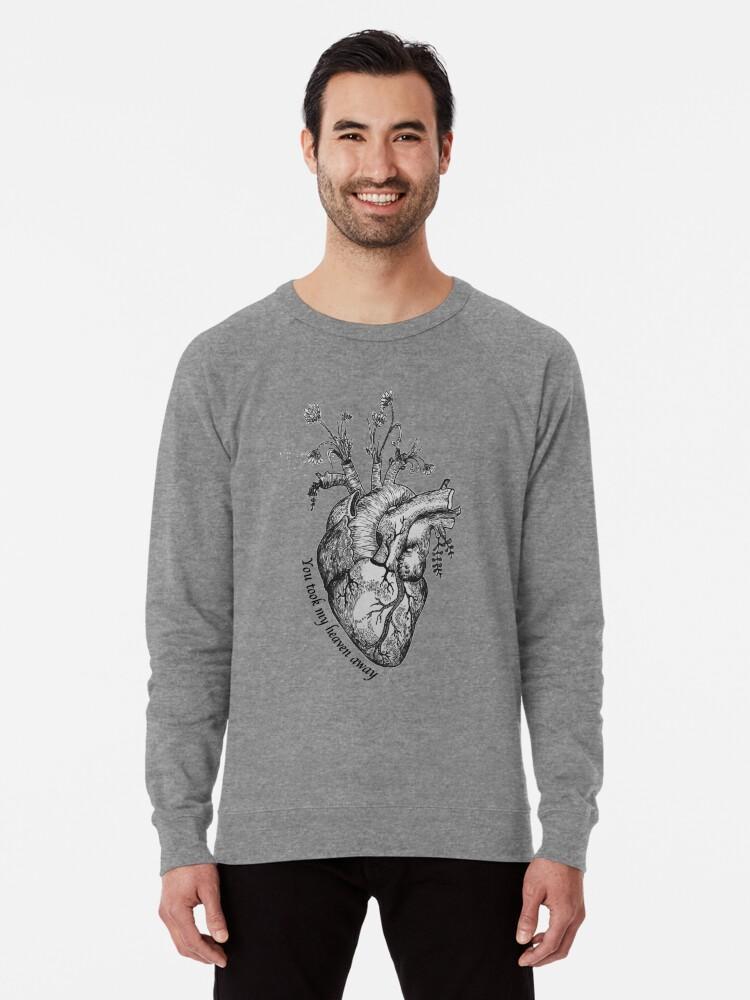 'Pvris - Heaven' Lightweight Sweatshirt by Dykes-On-Bikes