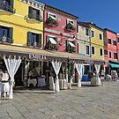 Burano , Italy  by Judy Ann  Grant