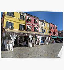Burano , Italy  Poster