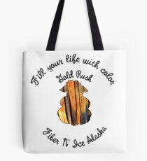 Fill Your Life With Color - Gold Rush Tote Bag