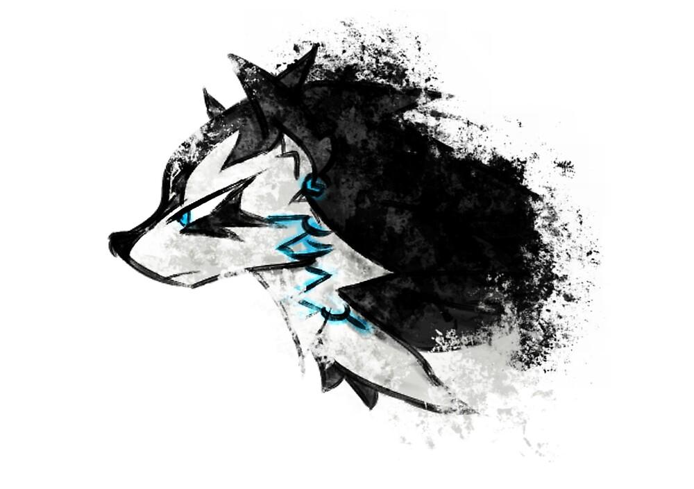 Wolf Link Artwork  by WindWaker13