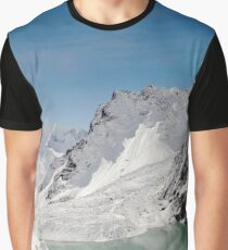 Melting Mountains Graphic T-Shirt