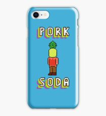 Pork Soda Pixels 1 iPhone Case/Skin