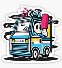 Killer Ice Cream Truck Sticker