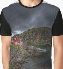 Fishing Village Graphic T-Shirt