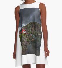 Fishing Village A-Line Dress
