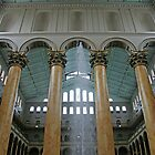 Corinthian Columns At The National Building Museum -- 2 by Cora Wandel