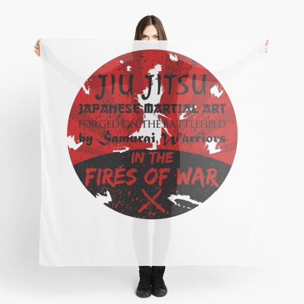 Jiu-Jitsu Fires of War Scarf