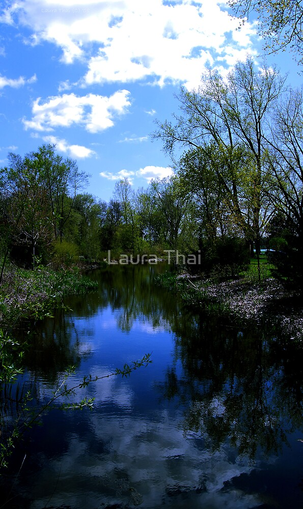 Clear blue day by Laura Thai