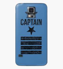 Navy Captain Case/Skin for Samsung Galaxy