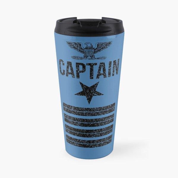 Navy Captain Travel Mug