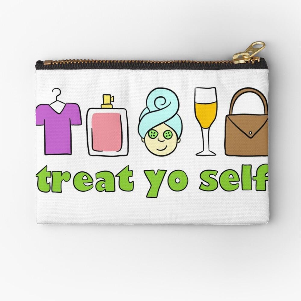 Treat Yo Self Zipper Pouch