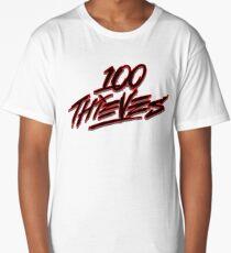 100 Thieves Logo Long T-Shirt