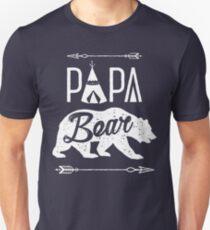 Papa Bear T-shirt Unisex T-Shirt