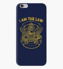 I Am the Law iPhone Case