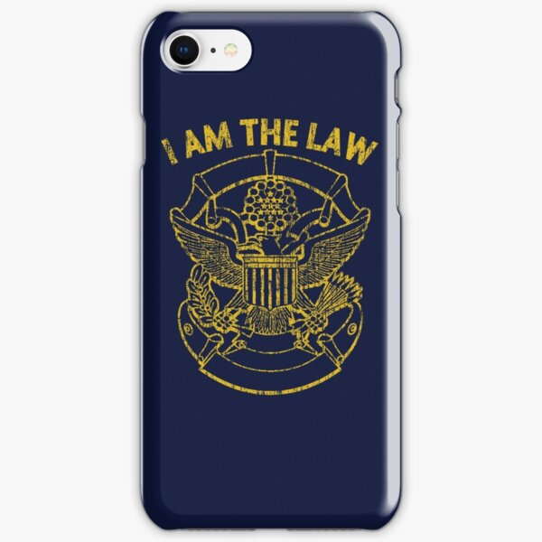 I Am the Law iPhone Snap Case